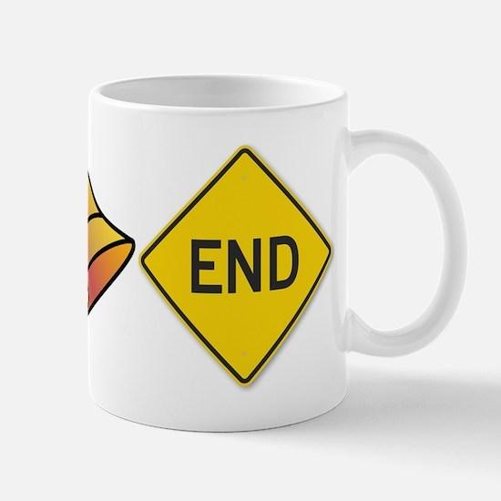 bellend bell end sign bells Mugs