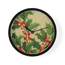 Holiday Holy Wall Clock