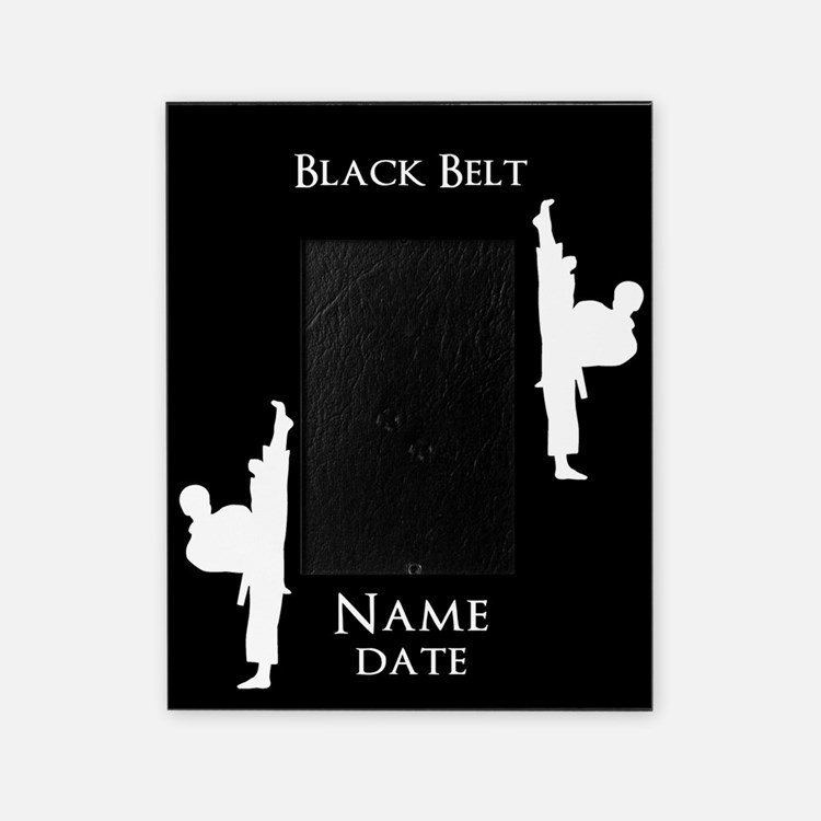 Black Belt Picture Frame