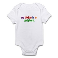 My Daddy Is An Architect Infant Bodysuit