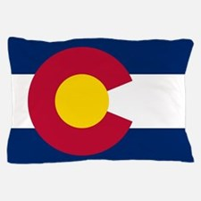 Colorado state flag Authentic in HD Pillow Case