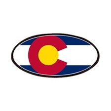Colorado state flag Authentic in HD Patch