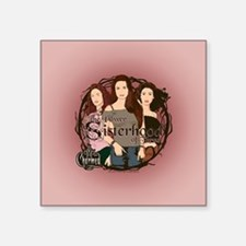 "Charmed Square Sticker 3"" x 3"""