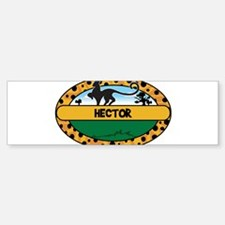 HECTOR - safari Bumper Bumper Bumper Sticker
