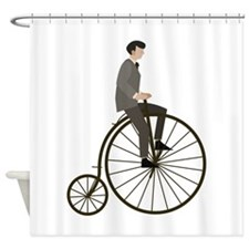 Vintage Cycle Shower Curtain