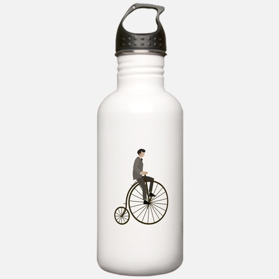 Vintage Cycle Water Bottle