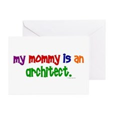 My Mommy Is An Architect Greeting Cards (Pk of 20)