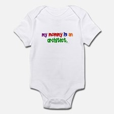 My Mommy Is An Architect Infant Bodysuit