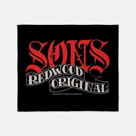 SOA Sons Redwood Original Blanket Throw Blanket