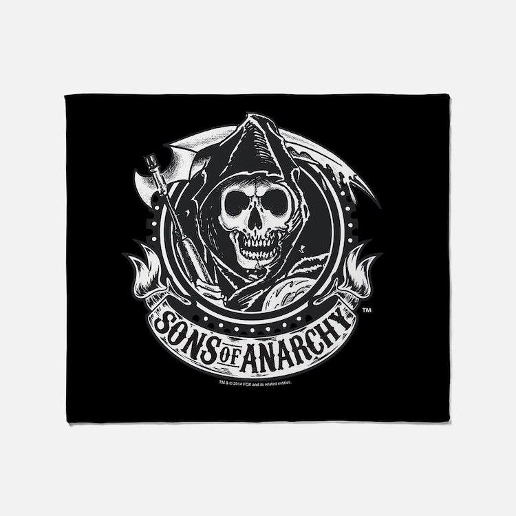 SOA Reaper 2 Blanket Throw Blanket