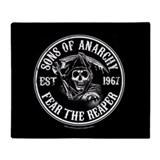 Sonsofanarchytv Fleece Blankets