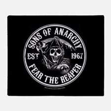 Fear the Reaper Blanket Throw Blanket