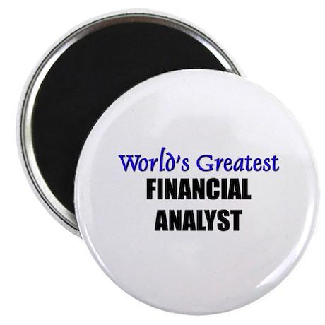 Worlds Greatest FINANCIAL ANALYST Magnet