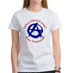 Anarchy-Free Yourself Women's T-Shirt