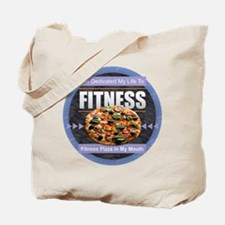 Fitness - Pizza Tote Bag