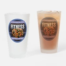 Fitness - Pizza Drinking Glass