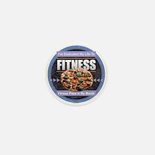 Fitness - Pizza Mini Button