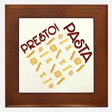 Presto Pasta Framed Tile