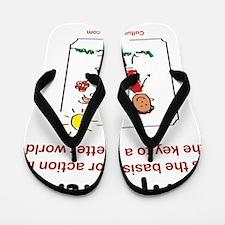 Empathy Flip Flops
