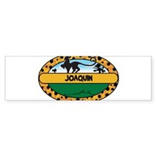 JOAQUIN - safari Bumper Bumper Sticker