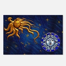 Harvest Moons Sun & Moon Postcards (Package of 8)