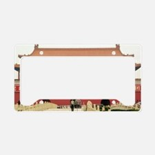 Forbidden City Southern Gate License Plate Holder