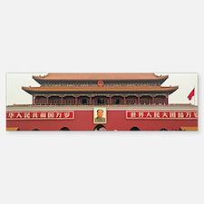 Forbidden City Southern Gate Sticker (Bumper)