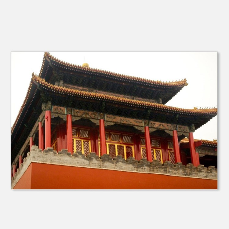 Forbidden City Building Postcards (Package of 8)
