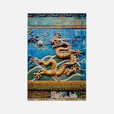 Dragon Wall Rectangle Magnet