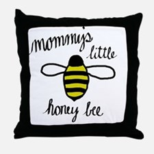 Mommy's Little Honey Bee Throw Pillow