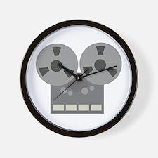 Tape Player Wall Clock