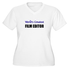 Worlds Greatest FILM EDITOR T-Shirt