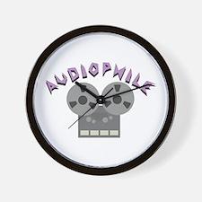 Audiophile Wall Clock