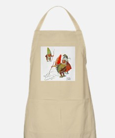 Gnomes Search for Pig in the Snow Apron