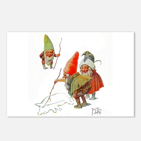 Gnomes Search for Pig in Postcards (Package of 8)