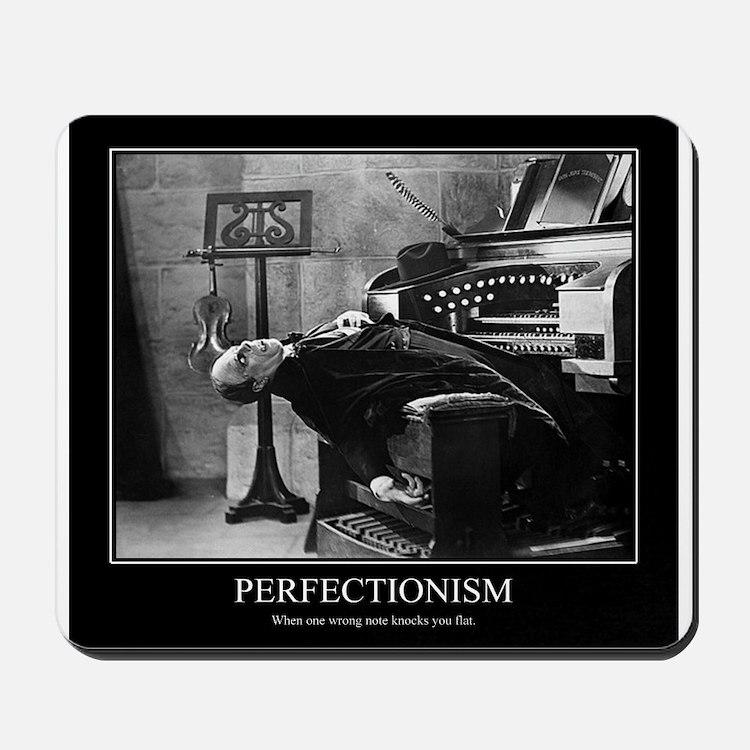 Perfectionism: Phantom of the Opera Mousepad