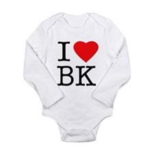 Unique Ny Long Sleeve Infant Bodysuit