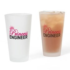 Cool Girl science geek Drinking Glass