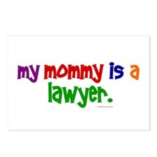My Mommy Is A Lawyer Postcards (Package of 8)