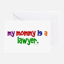 My Mommy Is A Lawyer Greeting Card