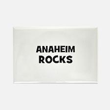 Anaheim Rocks Rectangle Magnet