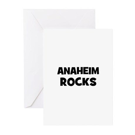 Anaheim Rocks Greeting Cards (Pk of 10)