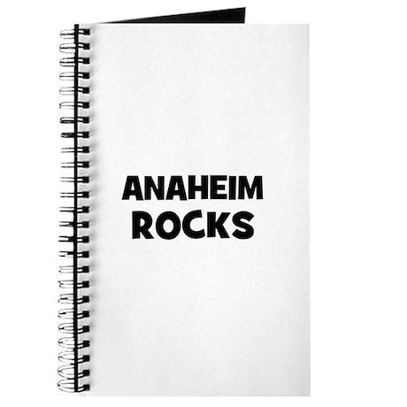 Anaheim Rocks Journal