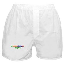 My Mommy & Daddy Are Lawyers Boxer Shorts