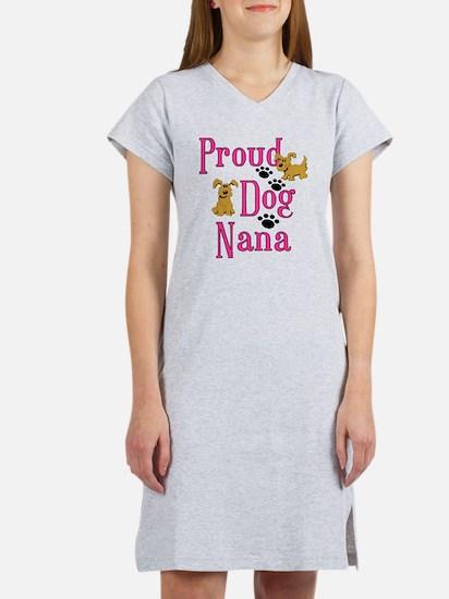 Proud Dog Nana Women's Nightshirt
