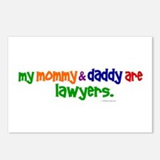 My Mommy & Daddy Are Lawyers Postcards (Package of
