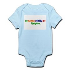 My Mommy & Daddy Are Lawyers Infant Bodysuit