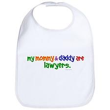 My Mommy & Daddy Are Lawyers Bib