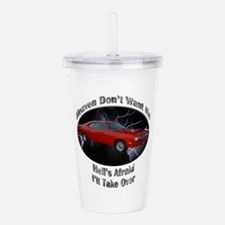 Plymouth Duster Acrylic Double-wall Tumbler