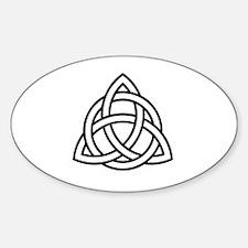 Unique Cult Sticker (Oval)